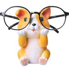 Cute Dog Shaped Resin Spectacles Holder Glasses <strong>Shelf</strong>