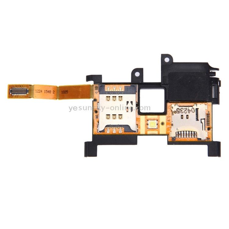SIM Card Reader Contact Flex Cable Ribbon for <strong>Sony</strong> Ericsson Xperia <strong>X10</strong> X10i X10a