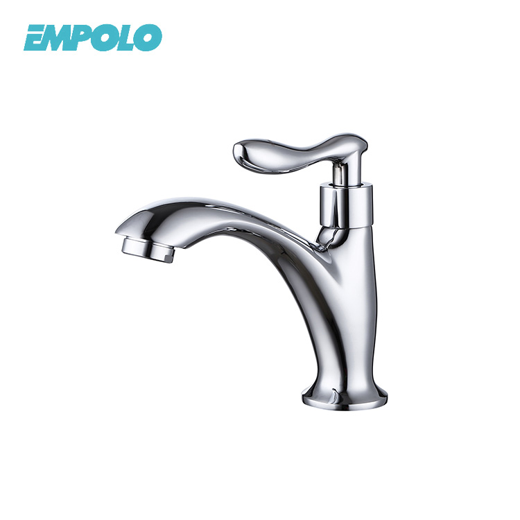 Professional Brass Single Handle Basin Faucet Parts Cold Water Tap
