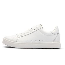 trendy comfortable Alexander-McQueen white calf leather tide shoes oversized sneaker women