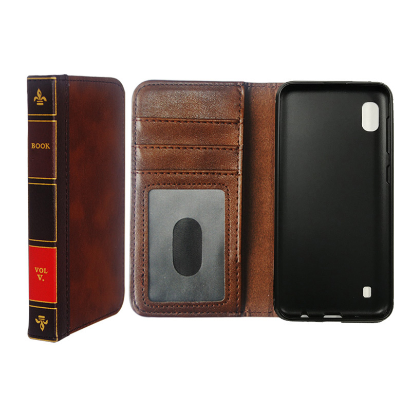 Wallet leather case For Samsung Galaxy <strong>A10</strong> Cover flip Pouch