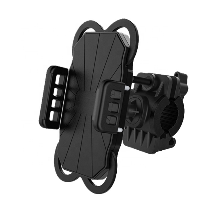 Universal Bike Bicycle <strong>Motorcycle</strong> Accessory Handlebar Mounted Mobile Phone Holder For 3.5-5.8 Inch