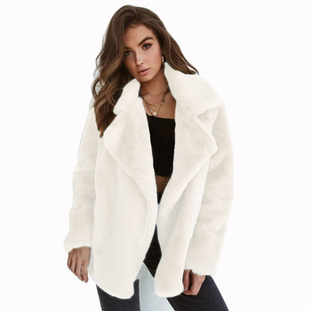 Brand new winter casual solid color velvet wholesale gray ladies fox women faux fur coat with great price