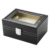 high quality new design 3 slots watch box black beige color watch case packaging box