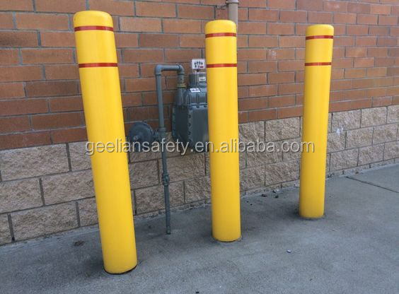 China Supplier High Quality Bollard cover, plastic road bollard post sleeves with low price