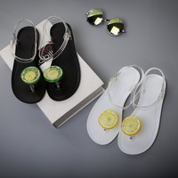 New Style Sweet Jelly Shoes Women Sandals Flat Summer Shoes Woman Casual Flats Shoes sandals
