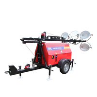 9M 5x1000 Diesel Portable Manual Light Towers/Lighting Towers