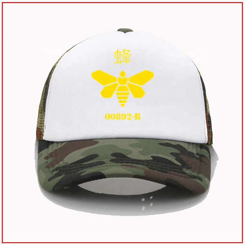 breakingescher breaking bad bees 00892-B <strong>Y</strong> DIY Design Baseball Sport-<strong>Cap</strong> Hats baseball hats for high ponytails l baseball hat
