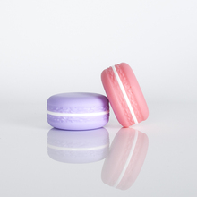 5g 10g colorful plastic gel empty macaron lip balm jar <strong>container</strong>