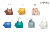 Women Purse Hobo Bag Set Draw-string Crossbody Handbag 2020 Design Ladies Bag