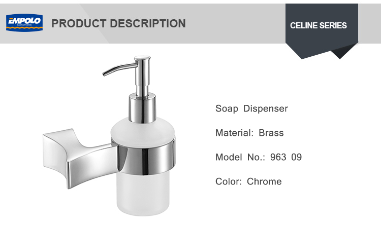 Durable Wall mounted soap dispenser touchless liquid soap dispenser refillable dispenser