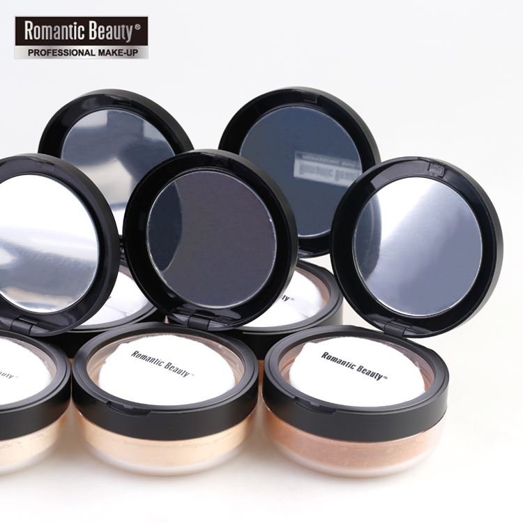 Brand Makeup <strong>Powder</strong> 6 Colors Loose <strong>Powder</strong> Face Makeup Waterproof Nature Skin Finish <strong>Powder</strong>