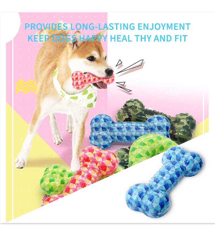 Customized 2019 intelligent durable dog chew toys for aggressive chewers dog
