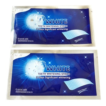 14Pcs 7 Pair Bright White Teeth Whitening Kit Tooth Bleaching Whitening Strips