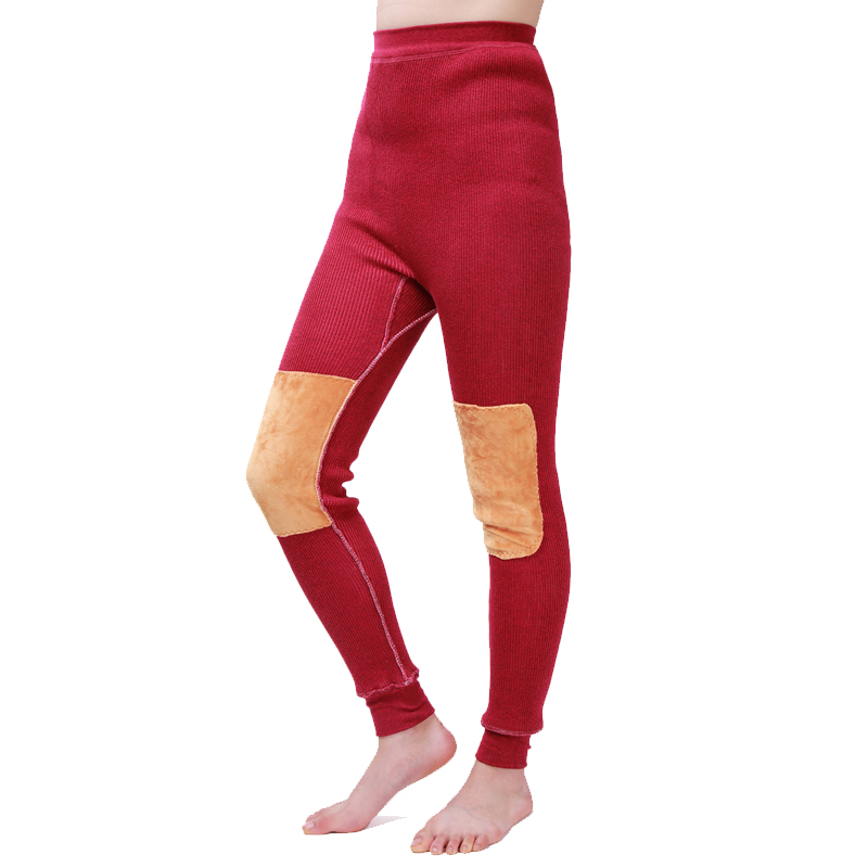 Spring and Autumn new ladies leggings knee pants can be customized winter warm <strong>plus</strong> velvet thick cotton pants