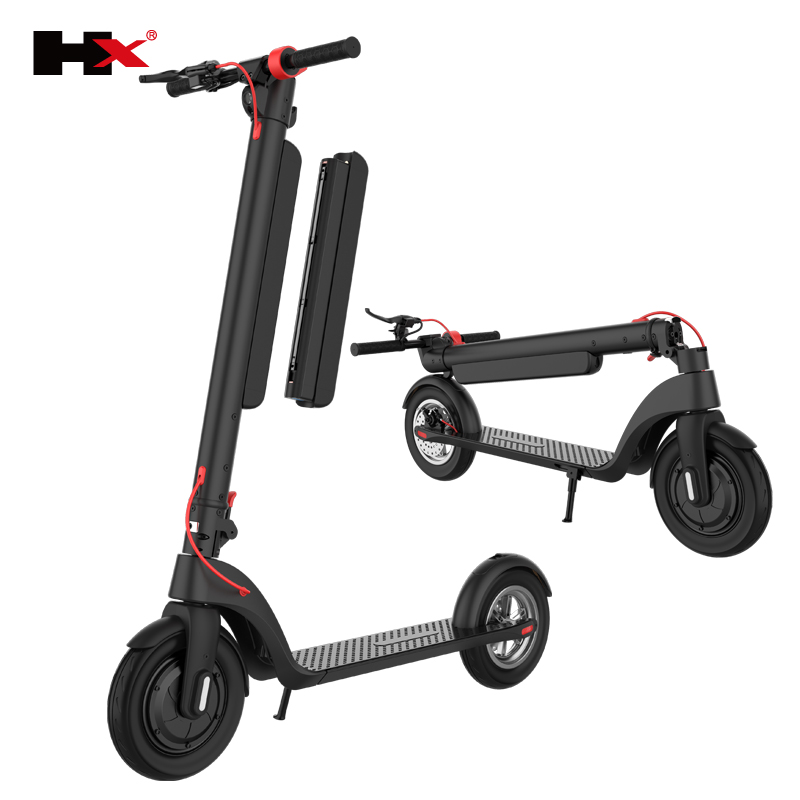 Original kick scooters 12 AH 10AH Battery removable 8.5 inch 10 inch 700w Motor 45KM Range HX X7 X8 foldable <strong>electric</strong> Scooter