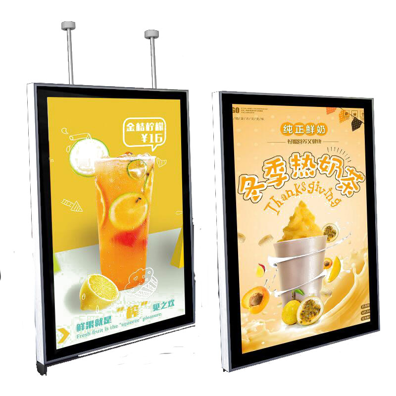 Hot Selling Magnetic Panel Picture Frame Led <strong>Light</strong> <strong>Box</strong> Billboard led menu board
