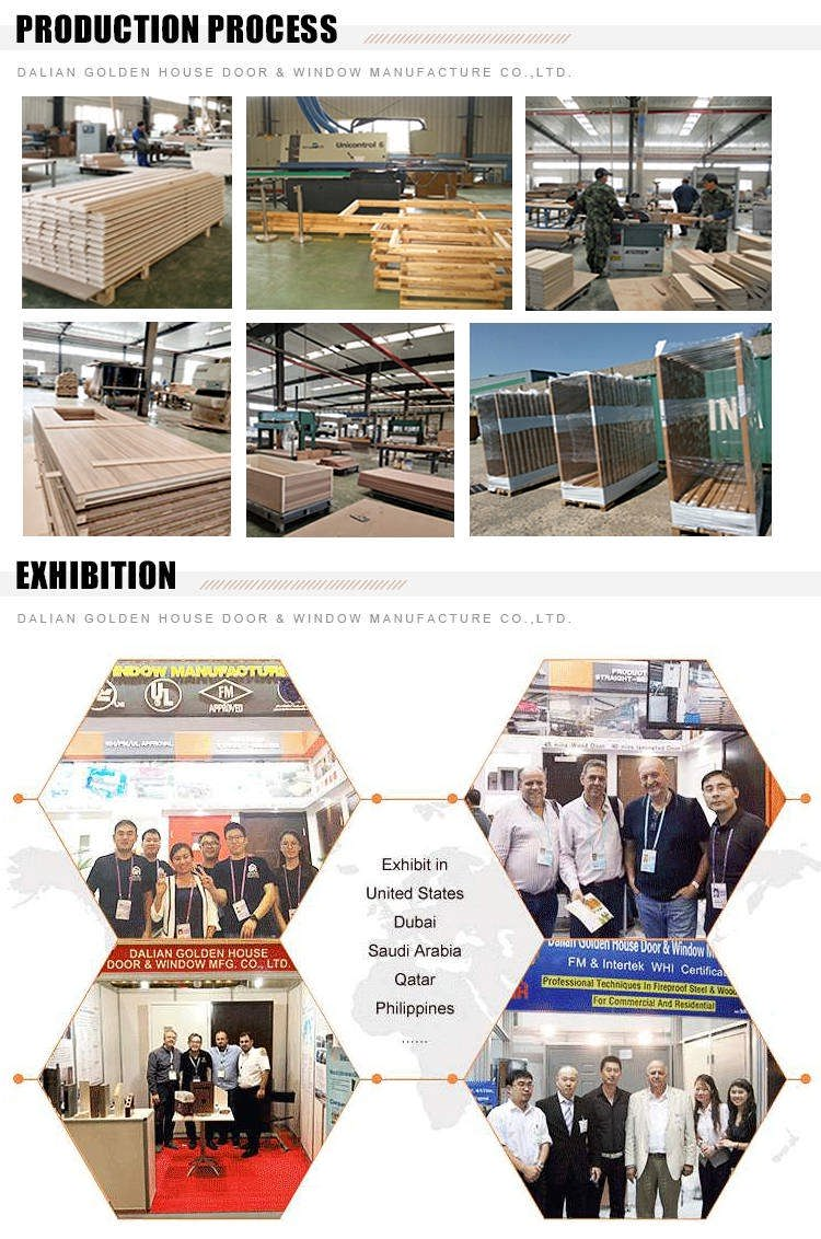 GH wooden fire door production proccess and exhibition