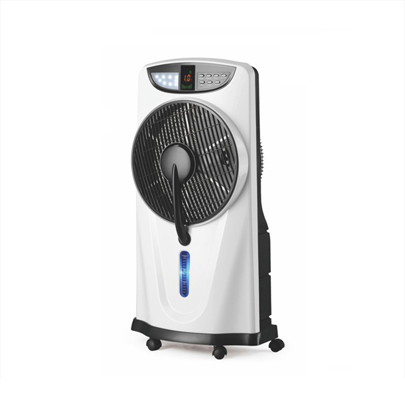 12inch Rechargeable battery emergency water air cooler <strong>fan</strong> with light