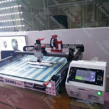 LED 3D letters printing manufacture machine automatic printer many letters process mini framed double lighting backlit dynamic