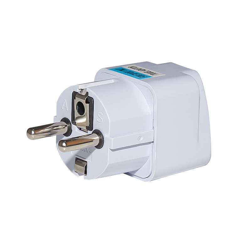 3PC AU US UK EU to Brazil BR travel charger power adapter wall plug converter