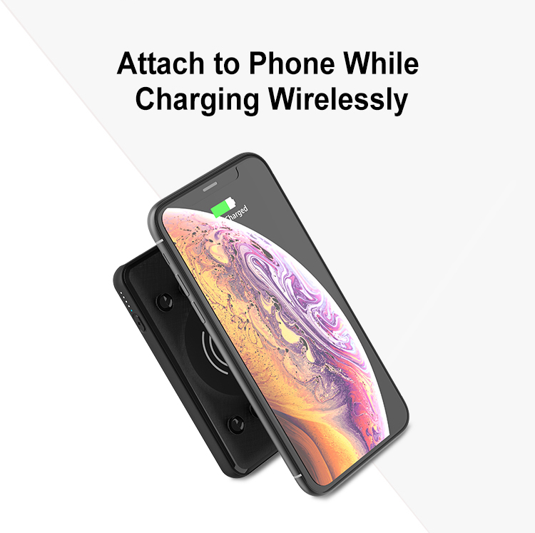 Custom Logo Oem Portable Mobile Universal Fantasy Qi Certified Fast  Wireless Charging Phone Charger