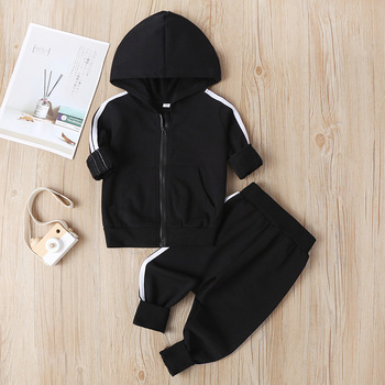 Baby Clothing Sets Children Suit Boys Tracksuits Kids Sport Suits Hoodies Top + Pants 2pcs Clothes Set