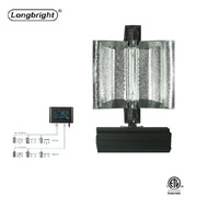 Hydroponic adjustable 1000W HPS MH double ended controllable grow light