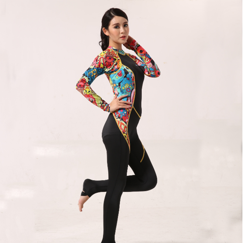 Long Sleeve Full One Piece Wet Suit for Men Women