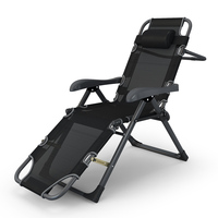 Wholesale outdoor folding lounge camping zero gravity chair