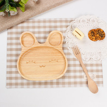 <strong>Plates</strong> Wood Fruit Dish Tray Deep Cheap Craft Solid Color Round Cute Kids Baby Feeding Wedding Bamboo For Wooden Dinner <strong>Plate</strong>