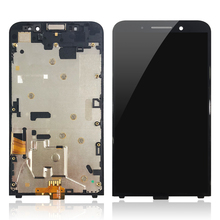 original replacement <strong>digitizer</strong> touch <strong>Screen</strong> For BlackBerry <strong>Z10</strong> Z20 Z30 LCD Display with frame Full Assembly Repair parts