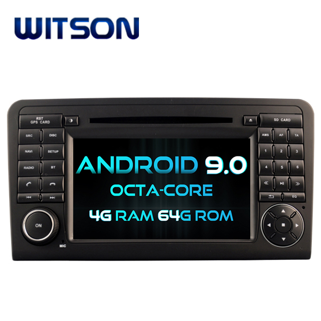 WITSON <strong>ANDROID</strong> 9.0 CAR DVD GPS NAVIGATION FOR MERCEDES-BENZ ML320 ML350 <strong>W164</strong> GL X164 GL320