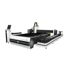 China laser cutter <strong>flat</strong> metal pipe cutting machine on sale for metal sheet and tube