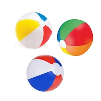 Wholesale small big giant size beach ball custom logo 16 - 36 - 72 inch pvc print inflatable ball beach for promotion