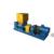 helix breaking machine twin helix pre breaker natural rubber mixing machine