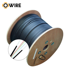 Shenzhen Factory Cheap Price Aerail <strong>Cable</strong> 2 Core FTTH Optical Fiber <strong>Cable</strong>