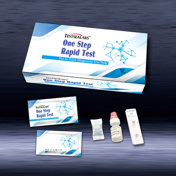 Testsealabs high quality one step H.Pylori Ab/Ag Test for Helicobacter antibody