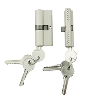 Euro profile mortice lock brass Core Body Double open Euro Cylinder Door Lock with normal key