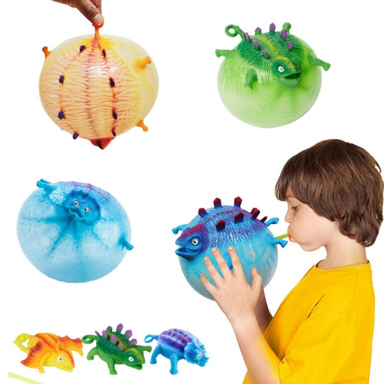 ZQX286 Inflatable Kids Novelty <strong>Toy</strong> Small Promotional <strong>Toys</strong> Balloon Dinosaur Ball Tpr <strong>Toy</strong>
