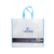 High quality promotional gift eco foldable white shopping non woven bag with printing logo