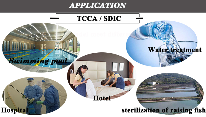 Air conditioning algicide 90% tcca price swimming pool tablet chlorine