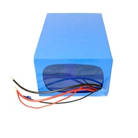 Electric motorcycle lithium battery 14S 52V power lipo battery replace lead acid battery