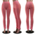 XS-2XL solid color high waist ruched pants women stacked leggings