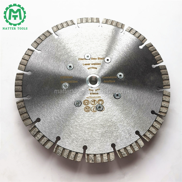 2020 Sharpness Disc with Flange 230mm Diamond Tools for Concrete Cutting
