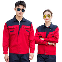 Work Clothing Sets Long Sleeve Men Factory Labor Engineering Clothes Work Wear Jacket And Pants