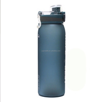 Yuandee Classic Sport Plastic Water Bottle BPA Free With Flip Cap