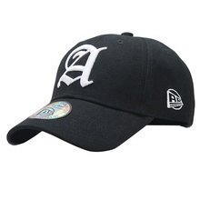 Custom made small MOQ baseball <strong>cap</strong> with 3D embroidery logo and sticker