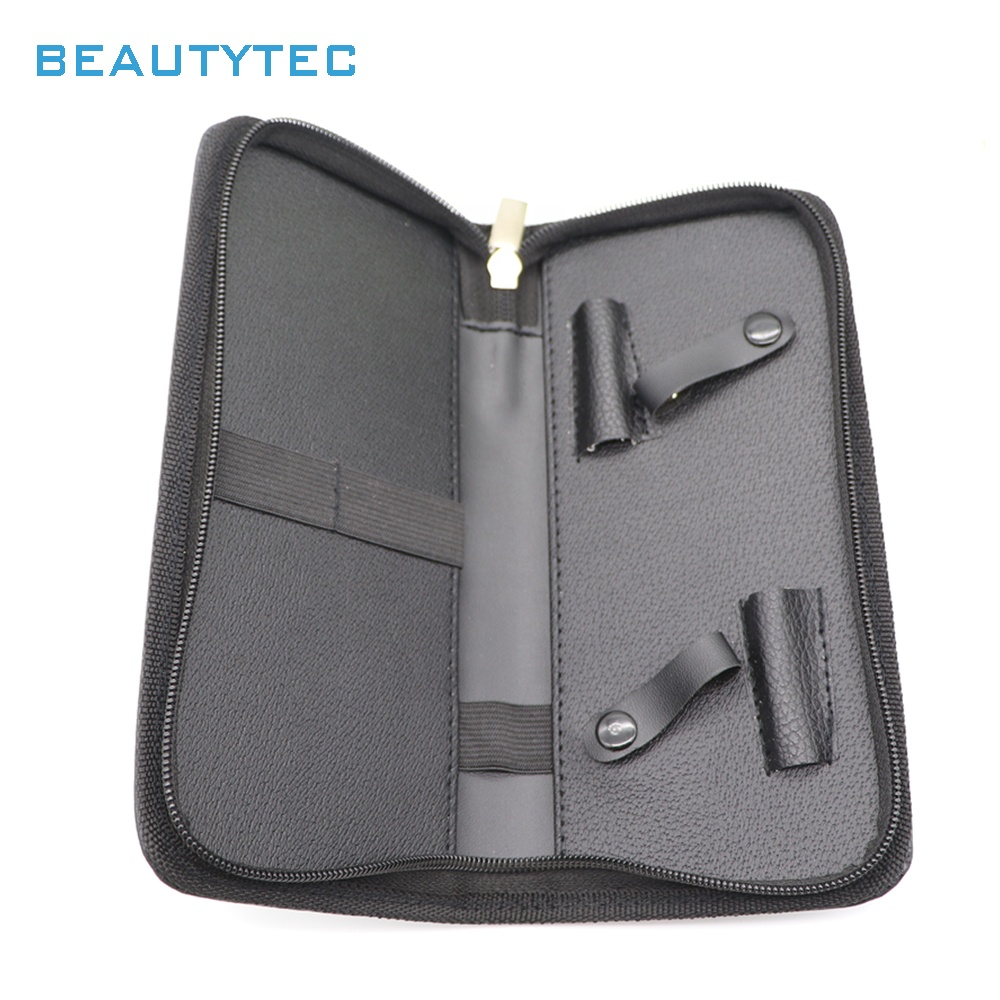 Customized Professional PU Leather Barber Hair Scissors Bag Hairdressing Holster Pouch