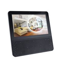 Touch Screen Speaker With Digital Display Alarm Clock Wifi Smart Connection Touch Screen bluetooth Speaker